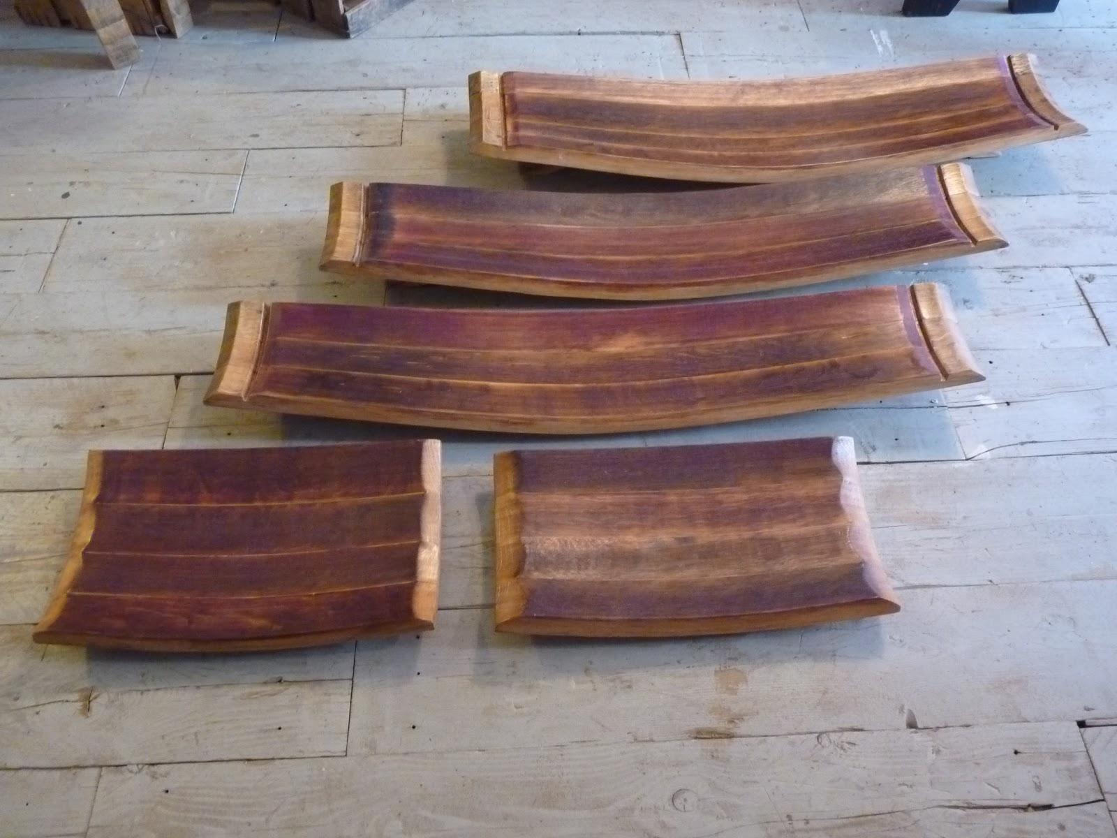 le re acteur nouvelle s rie de plateaux douelles de barrique new series of plates barrel. Black Bedroom Furniture Sets. Home Design Ideas