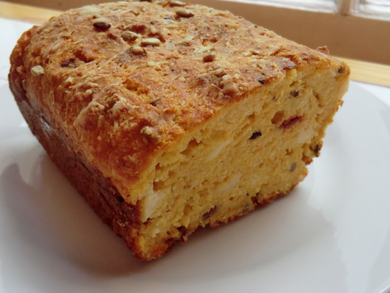 Polenta, Squash And Cheese Loaf Recipe — Dishmaps