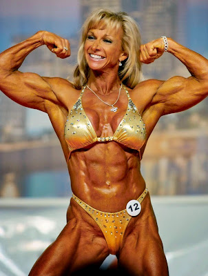 Woman, Muscles, Brawn, Brawny