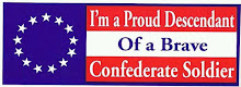 Proudly A Confederate Descendant