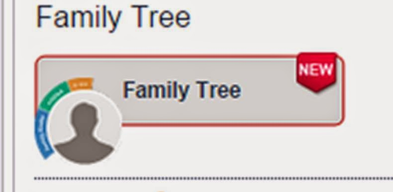 FamilyTreeDNA new Family Tree button