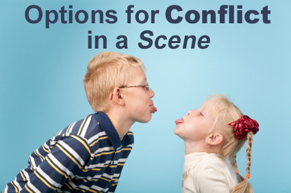 Structuring Your Story's Scenes, Pt. 4: Options for Conflict in a ...