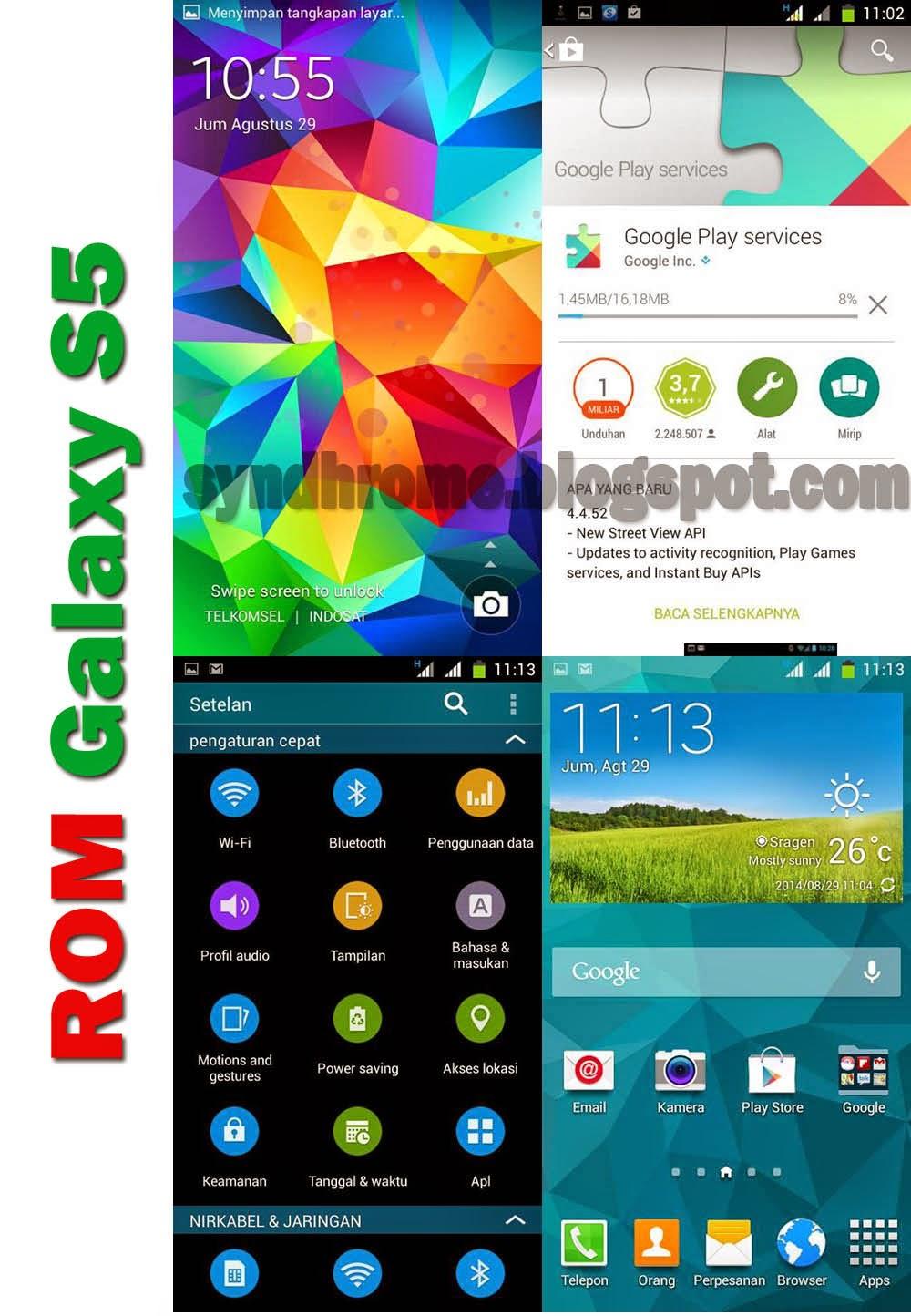 Cara Membuat Evercoss A66A menjadi Samsung Galaxy S5 | ROM Terbaru!