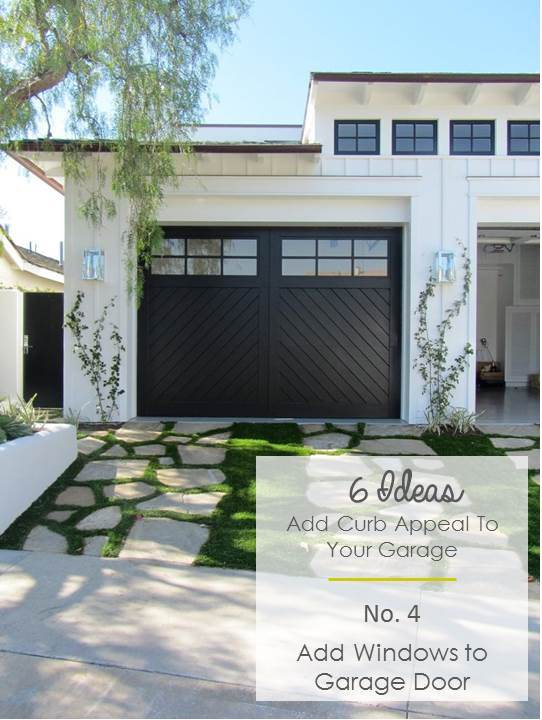 Anahikristian 6 ideas to add curb appeal to garages for Garage door curb appeal