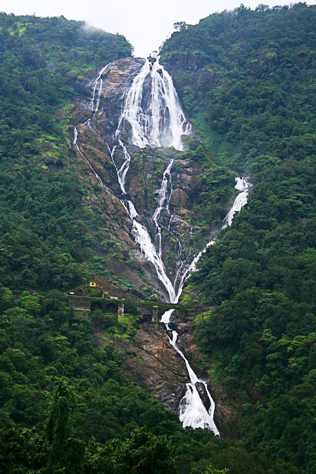 Download image Dudhsagar Falls Goa India PC, Android, iPhone and iPad