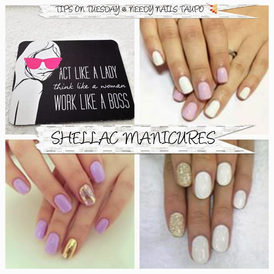 Acrylic sculpts tips Shellac French manicure Silver VIP Status