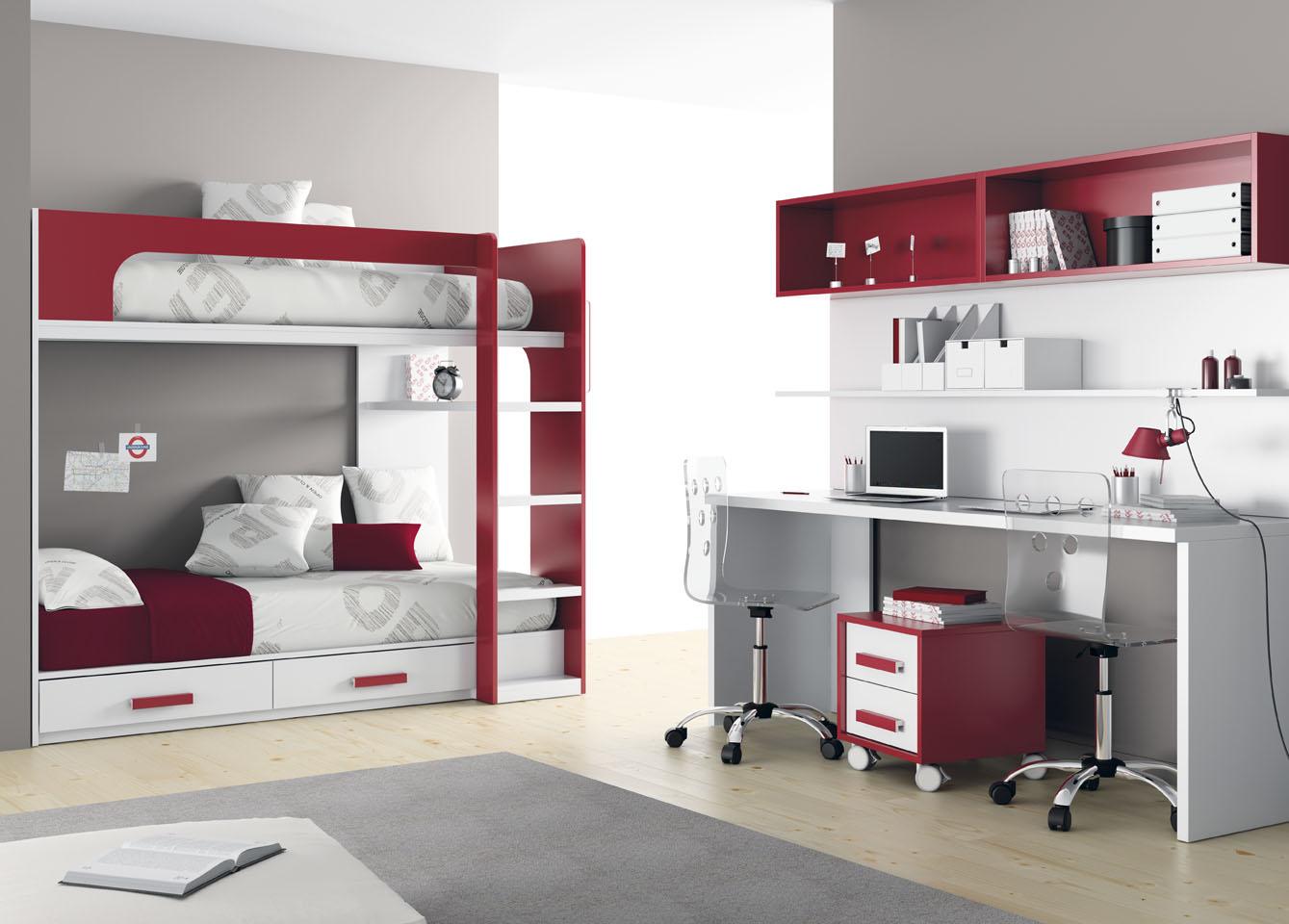 Literas de muebles ros frescas atrevidas y alegres for Em muebles