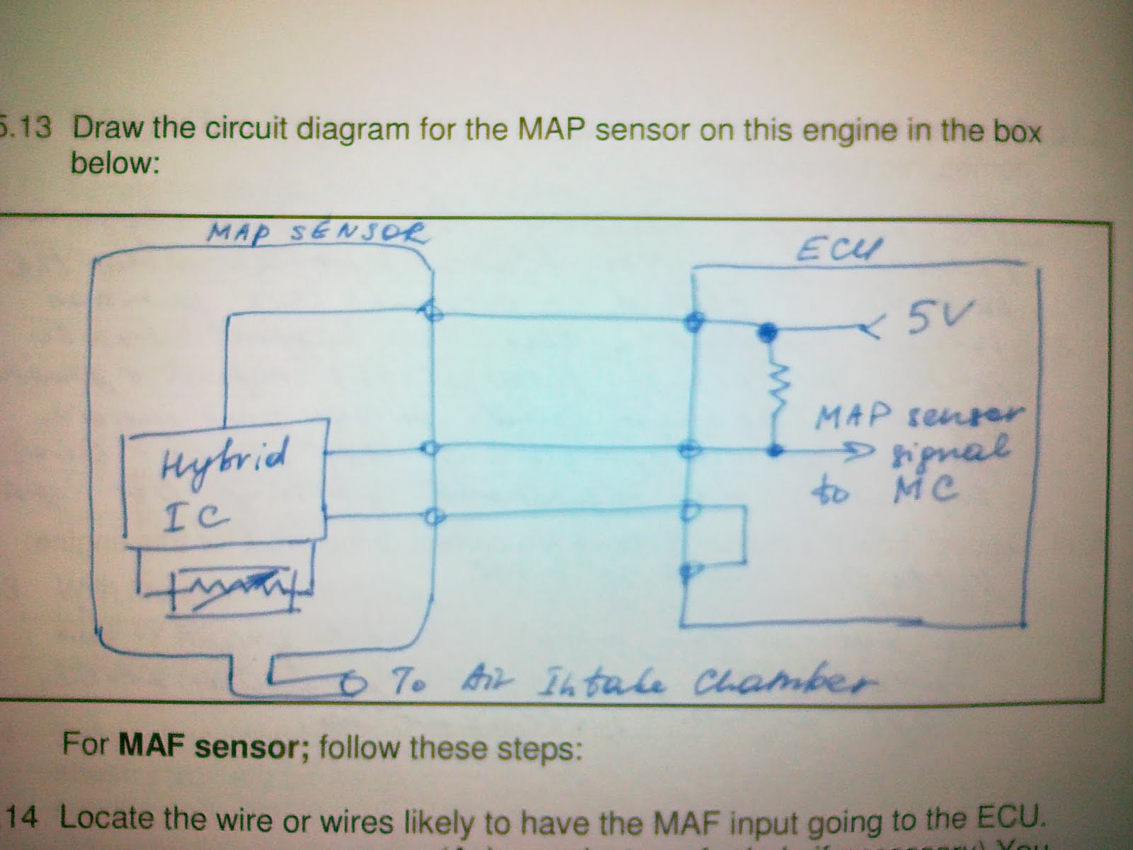 Scintillating Map Sensor Wiring Diagram For Maf Pictures - Best ...