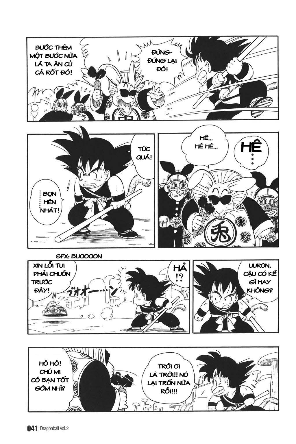 xem truyen moi - Dragon Ball Bản Vip - Bản Đẹp Nguyên Gốc Chap 17