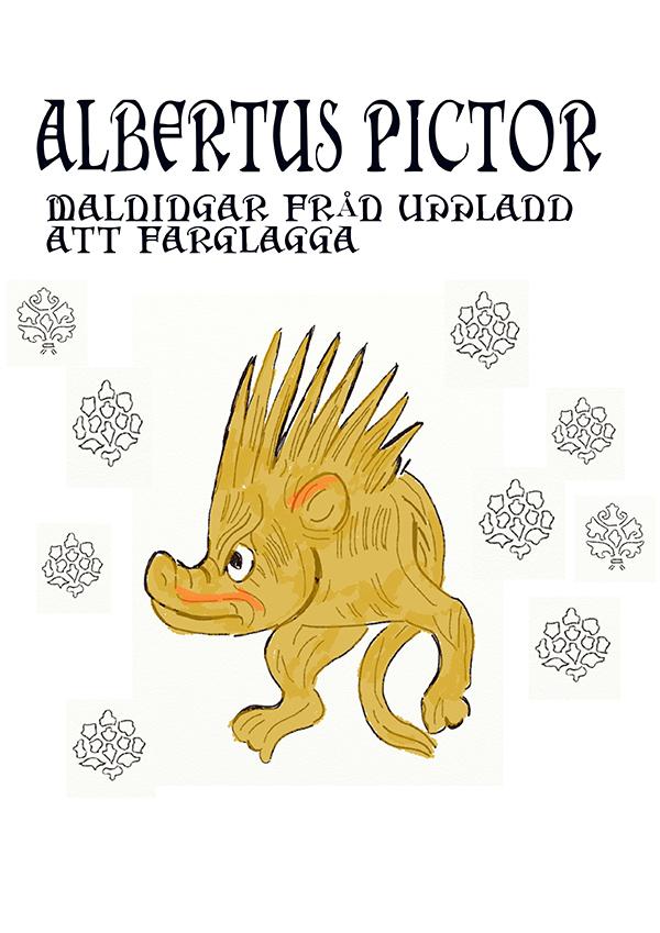 Min Albertus Pictor Målabok för vuxna