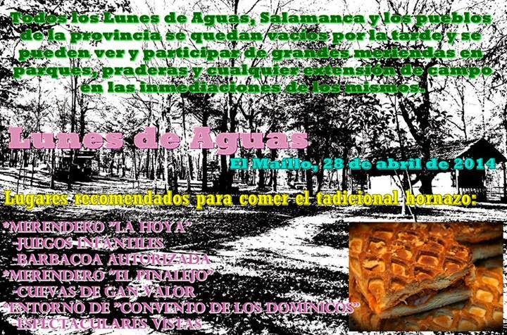 27/abril. Lunes de Aguas. El Maillo