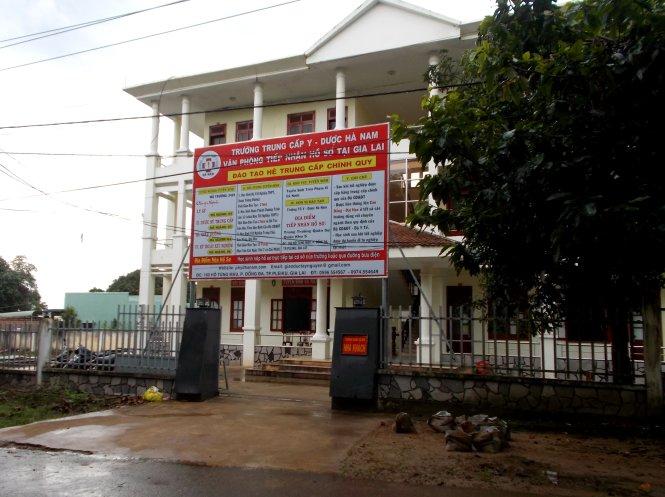 Gia Lai: Khổ vì học tại Trường trung cấp Y dược Hà Nam