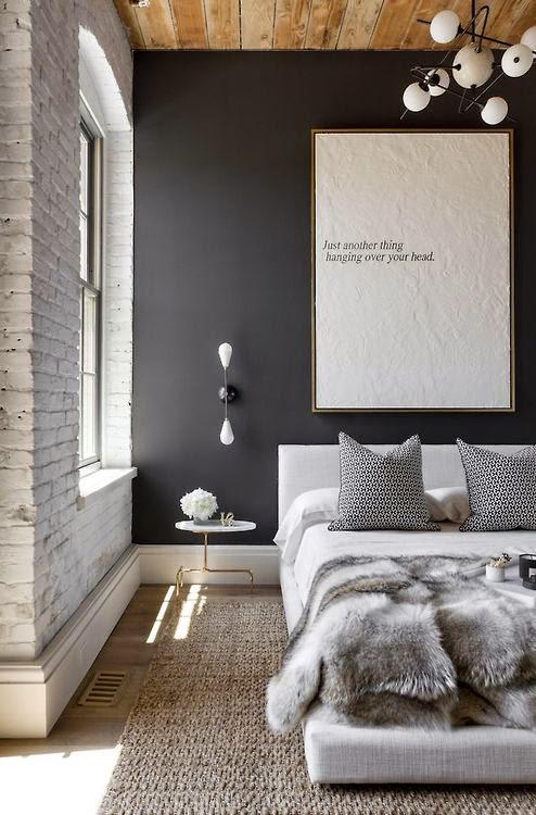 czerń, biel, szarość, mieszkanie, styl skandynawski, Lato,