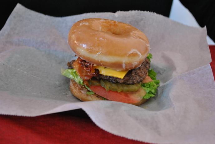 Florida State Fair 2013, Krispy Kreme Doughnut Burger