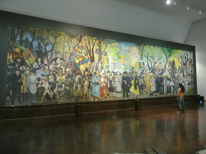 Del cupl a la revista sara inmortal for Un mural de diego rivera