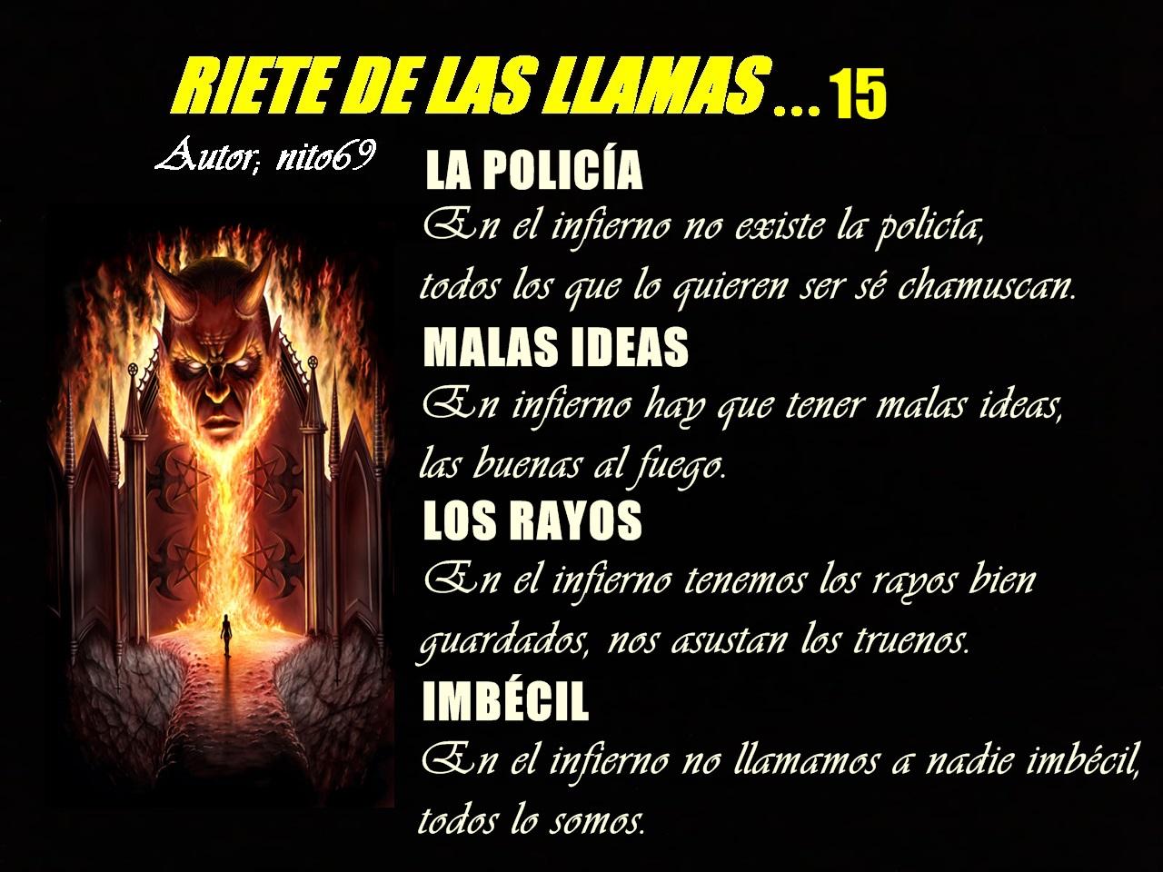 RIETE DE LAS LLAMAS 15