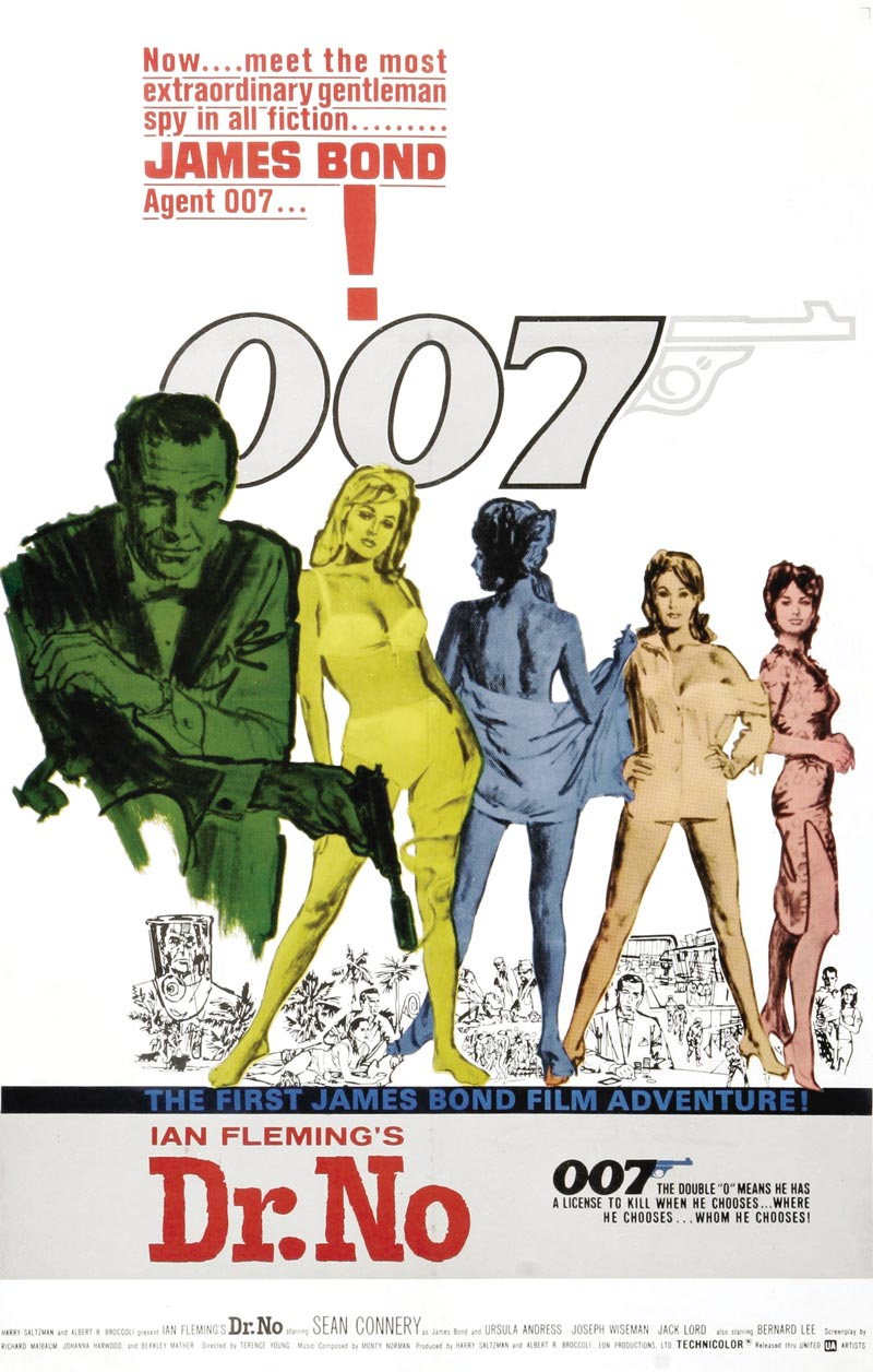 James Bond (007) Contra El Doctor No (1962)