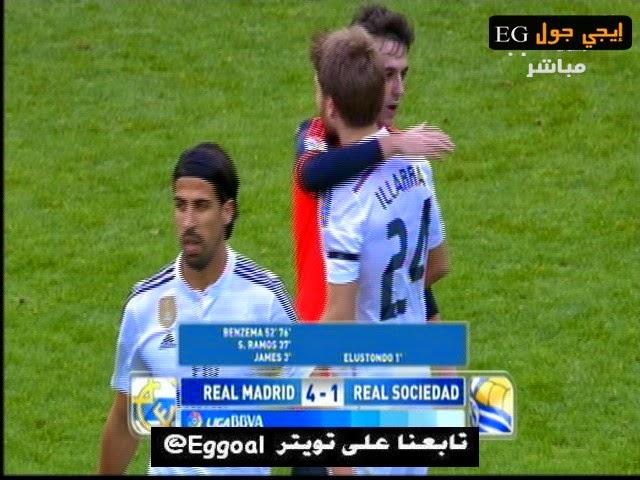 اهداف مباراة ريال مدريد وريال سوسيداد 4-1 الدورى الاسبانى   31-1-2015