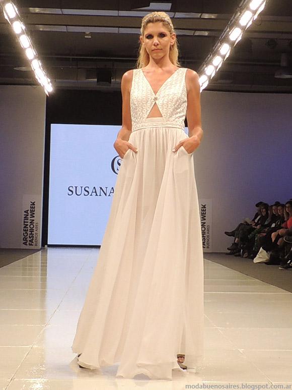 Susana Ortiz vestidos de novia primavera verano 2015. Vestidos primavera verano 2015.