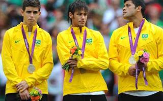 Brazil Medali Perak Olimpiade 2012