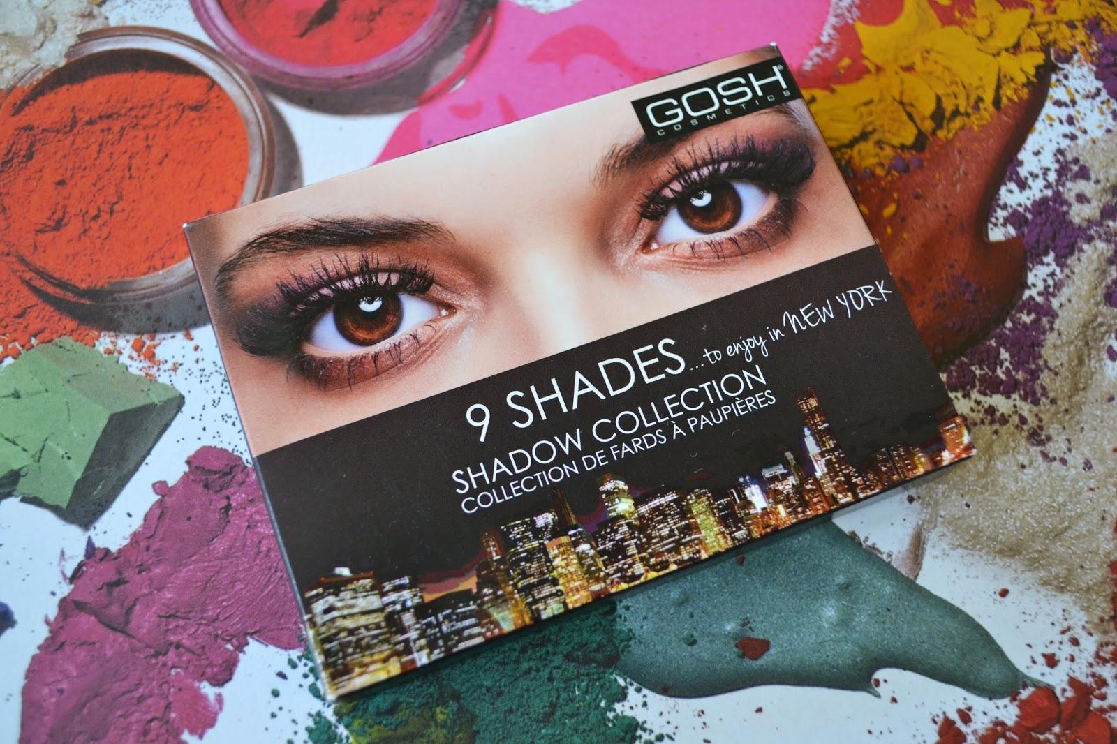 GOSH 9 Shades Eye Shadow Palette To Enjoy In New York - Aspiring Londoner