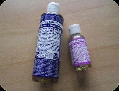 Castile soap set