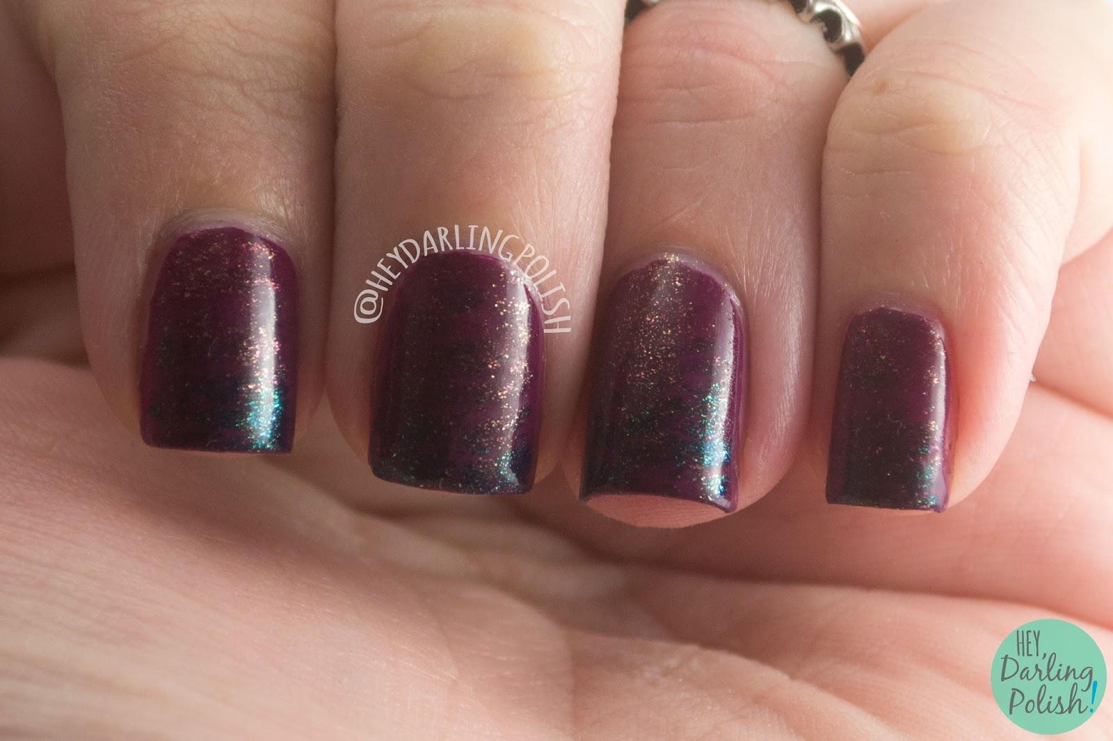 nails, nail art, nail polish, zoya, brushstrokes, hey darling polish, fall, autumn, gradient