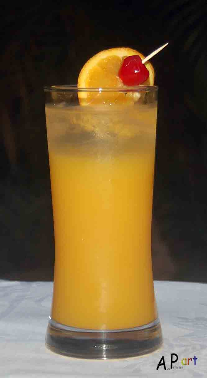 Alex the Contemporary Culinarian: Harvey Wallbanger
