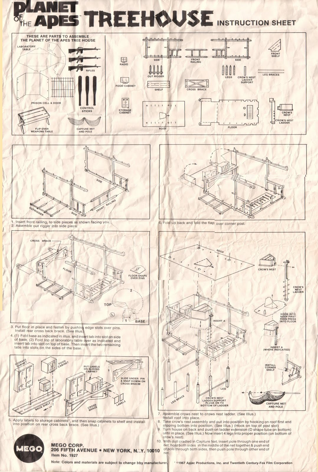 treehouse instructions