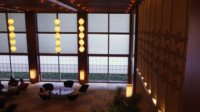Lobby at Hotel Okura