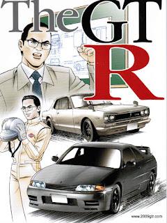 Nissan GTR Manga Comic