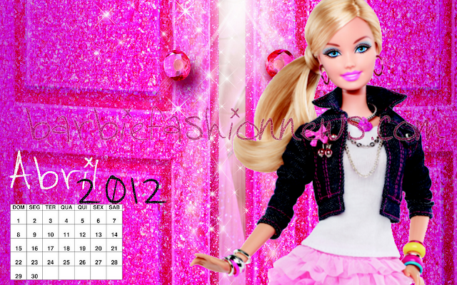 Wallpaper Abril Barbie Fashion News: Por Favor, não copie, Plágio é Crime!