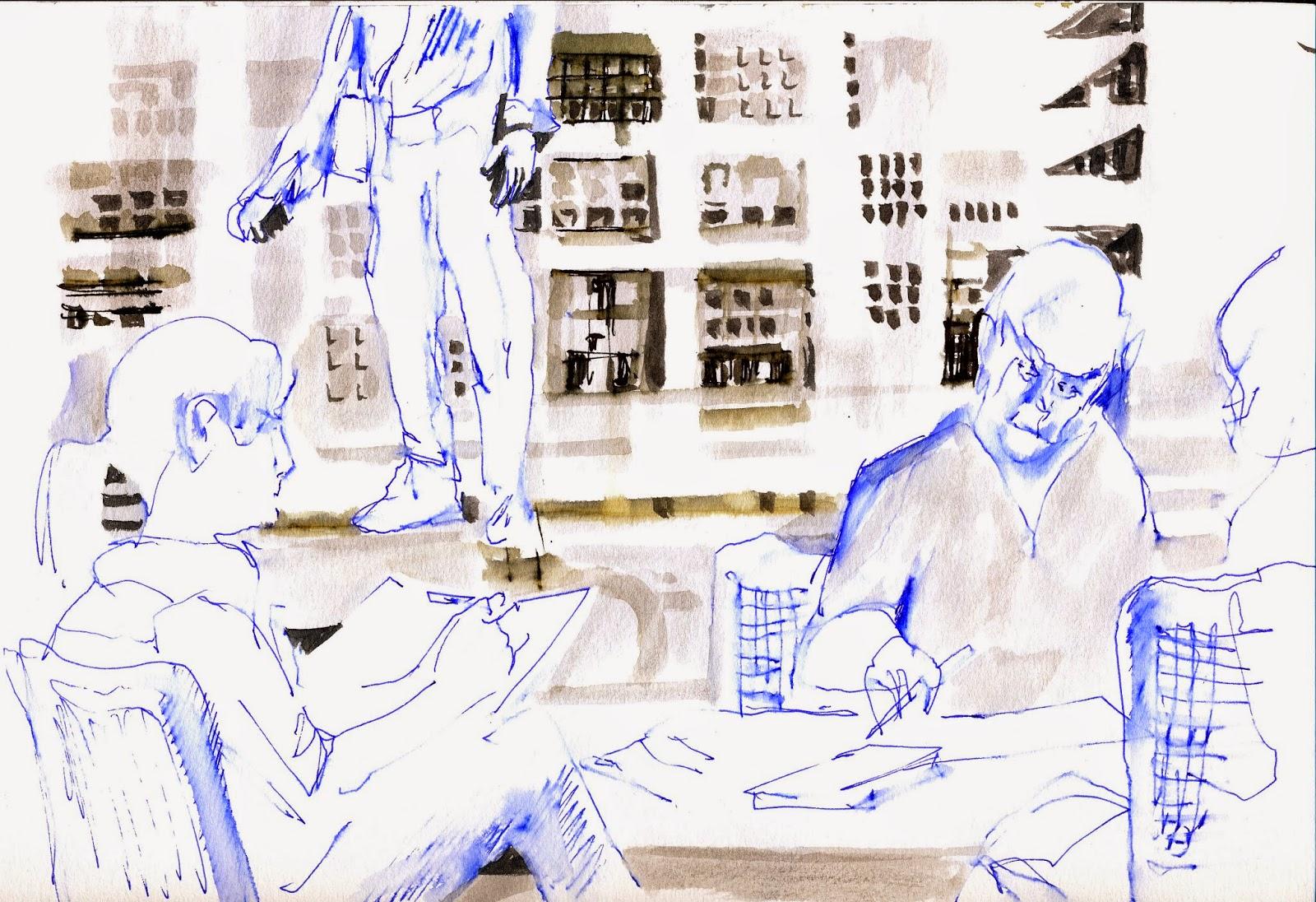 Urban Sketchers Memphis Three Visits To Crosstown Part 2