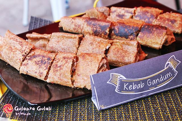 Container Kebab gandum