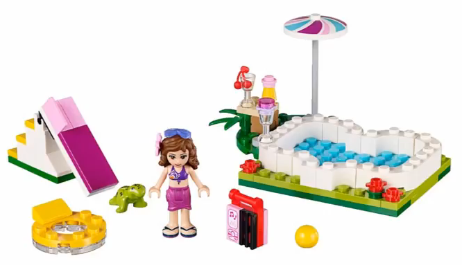 Heartlake times 2015 lego friends set images for Lego friends olivia s garden pool 41090
