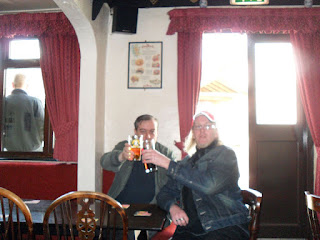 Cheers from The Plough and Harrow, Kinver