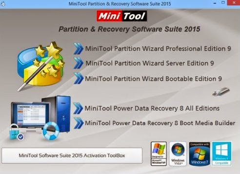 MiniTool Partition Recovery Serial Number Free download