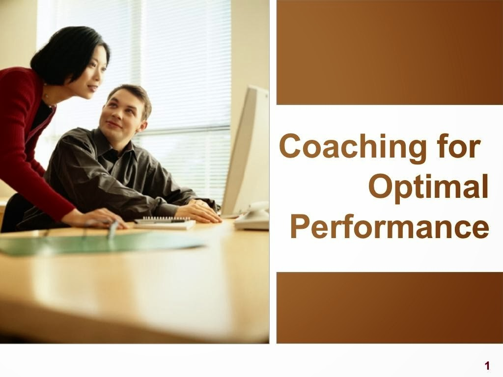 Coaching for Optimal Performance ppt