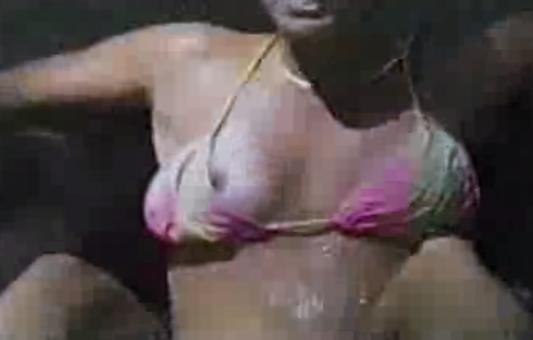 Nipple Slip In Water Park