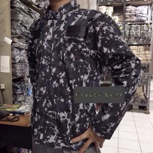 jaket abg / jaket loreng digital hitam