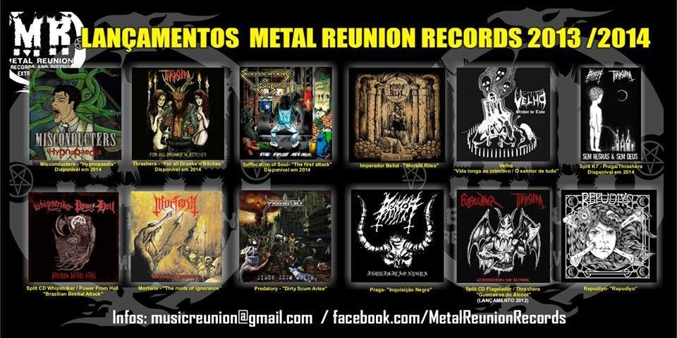 MUSIC REUNION PROD & amp;METAL REUNION RECORDS