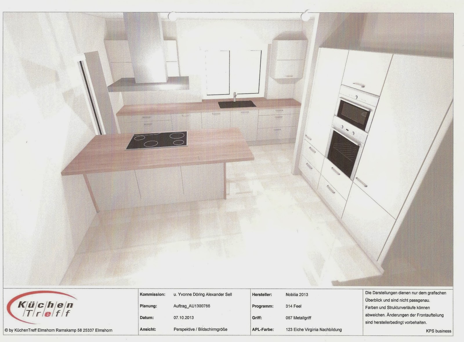 Bautagebuch - Das Schloßprojekt 2014: Küche