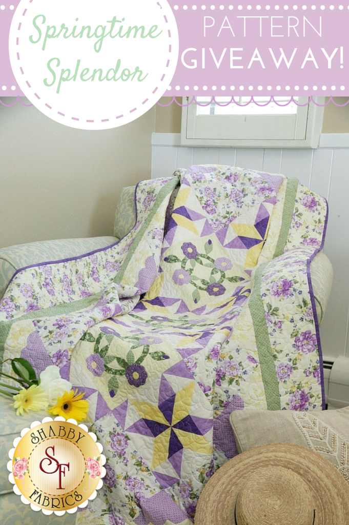 Exclusive Springtime Splendor Pattern GIVEAWAY