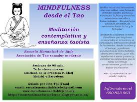 MINDFULNESS TAOISTA MEDITACIÓN-CONTEMPLACION-ENSEÑANZA REN TUI