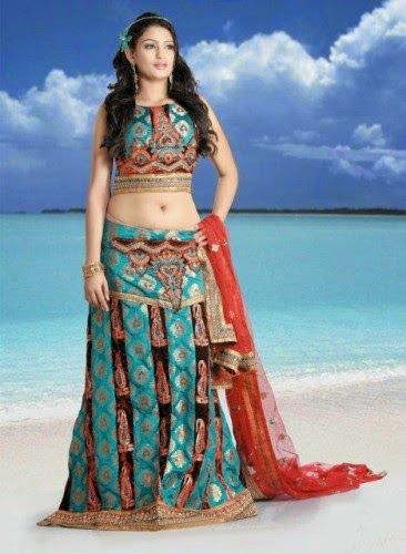 Stylish Utsav Lehenga Choli 2015 Collection