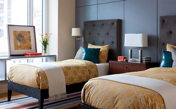 chambres doubles lits jumeaux. Black Bedroom Furniture Sets. Home Design Ideas