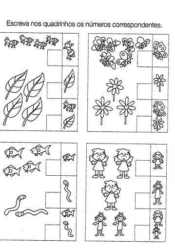 Populares Atividades para turminha do jardim - 4 a 5 anos - A Arte de  IH56