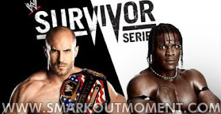 Watch WWE Survivor Series 2012 PPV Online United States Championship Match R-Truth vs Antonio Cesaro