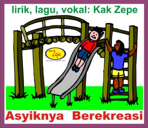 Lagu Anak Bertema Liburan - ASYIKNYA BEREKREASI - Karya Kak Zepe