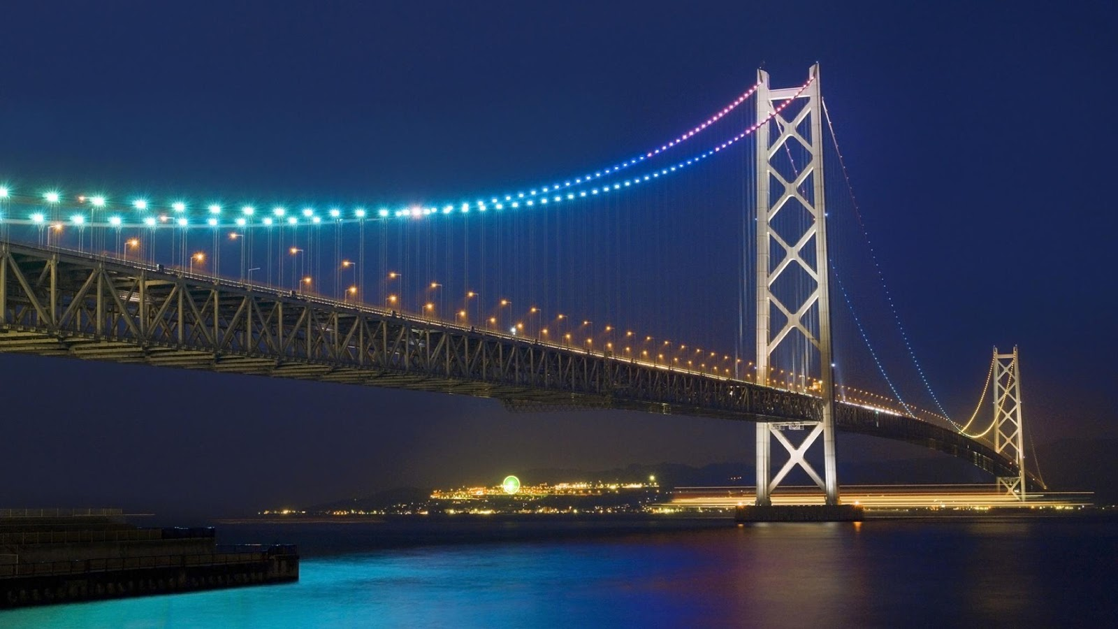 Akashi Kaikyo Bridge Wallpapers HD Wallpapers Cool - akashi kaikyo bridge wallpapers